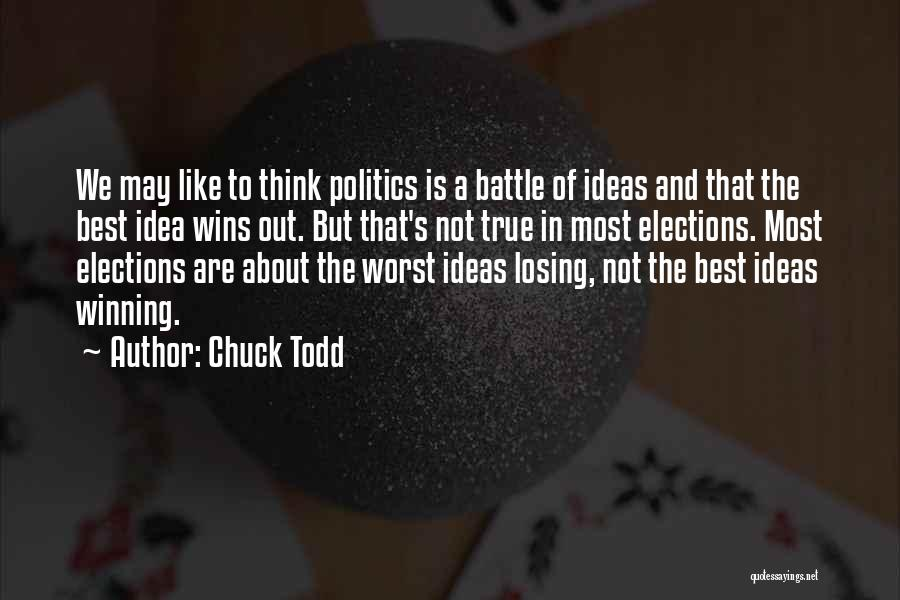 Chuck Todd Quotes 118961