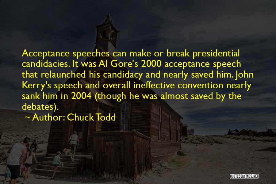 Chuck Todd Quotes 973634