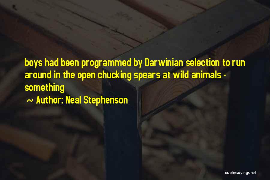 Chucking Quotes By Neal Stephenson