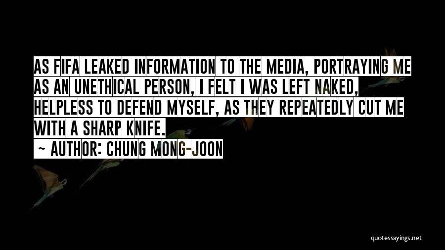 Chung Mong-joon Quotes 364916