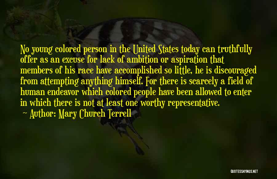 Church Members Quotes By Mary Church Terrell