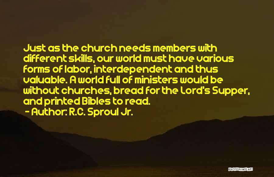 Church Members Quotes By R.C. Sproul Jr.