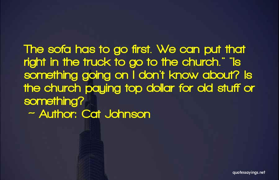 Church The Cat Quotes By Cat Johnson