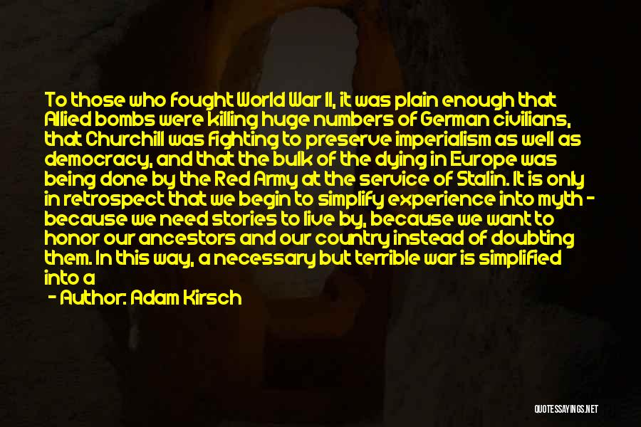 Churchill Europe Quotes By Adam Kirsch