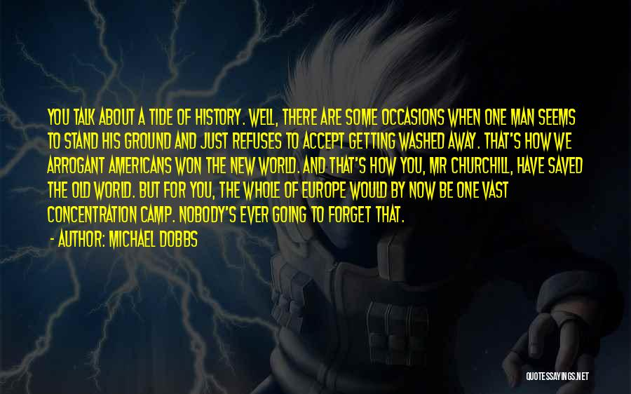 Churchill Europe Quotes By Michael Dobbs