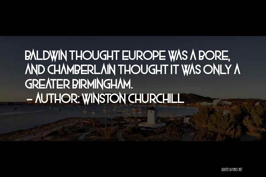 Churchill Europe Quotes By Winston Churchill