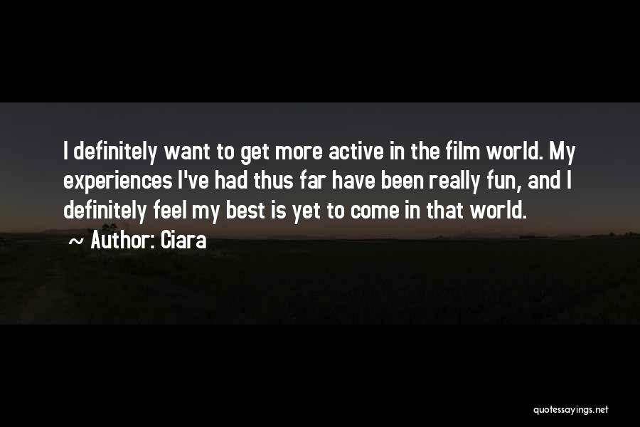 Ciara Quotes 1846904