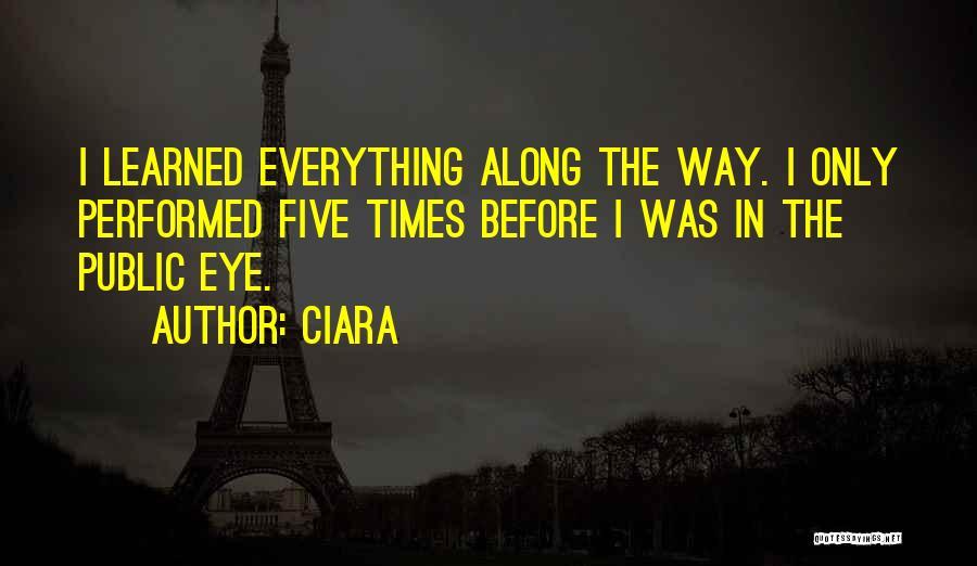 Ciara Quotes 1965033