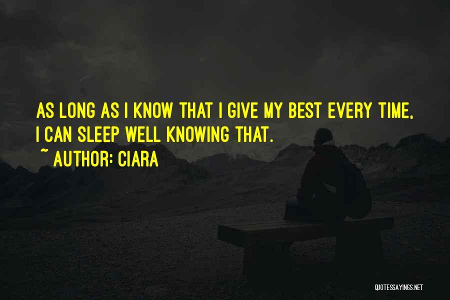 Ciara Quotes 552389