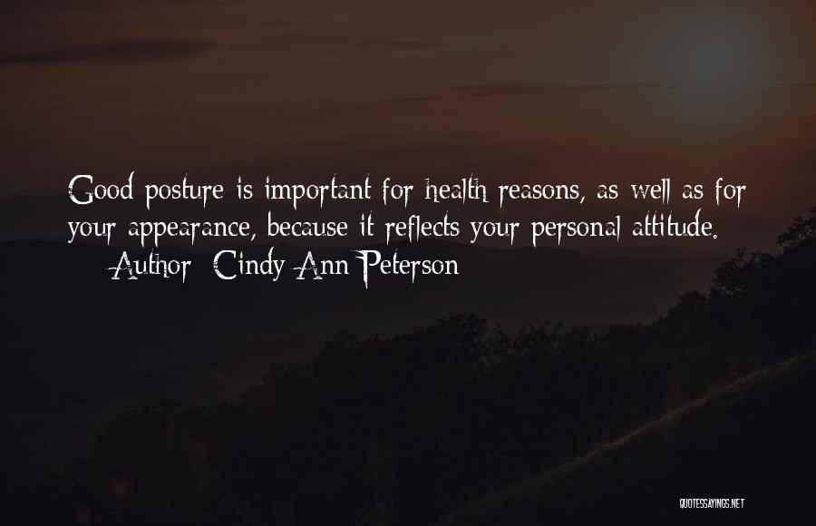 Cindy Ann Peterson Quotes 1256806