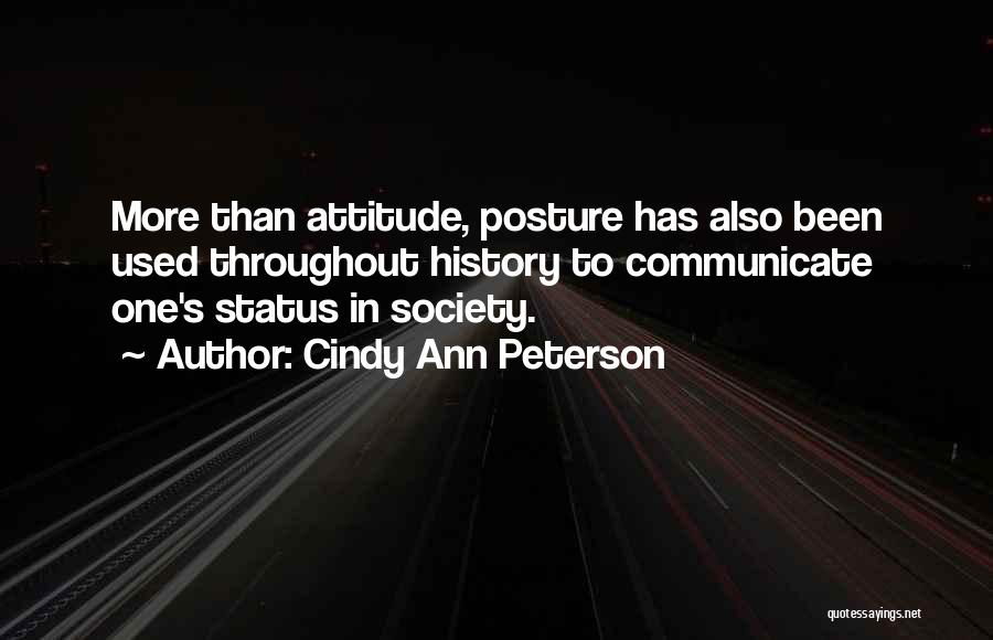 Cindy Ann Peterson Quotes 501444