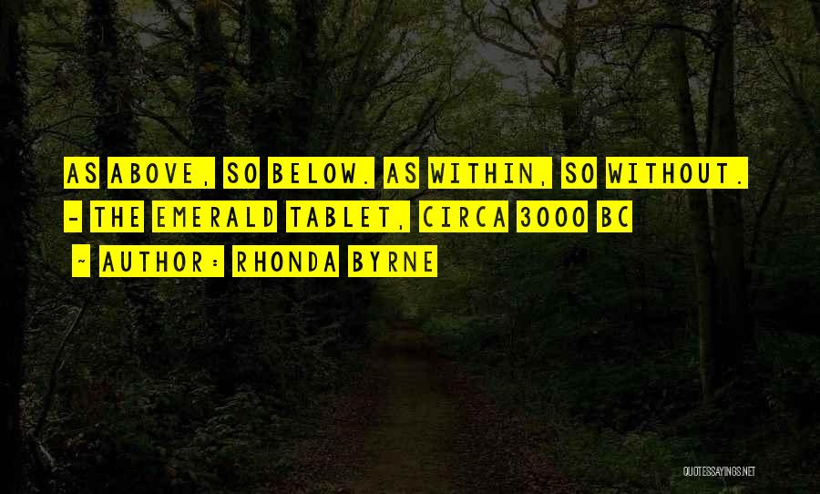 Circa Quotes By Rhonda Byrne