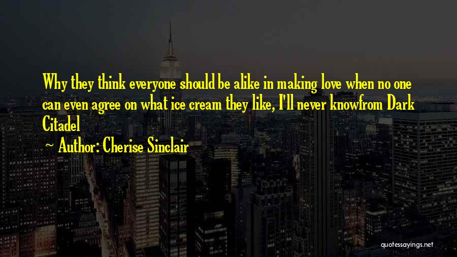 Citadel Quotes By Cherise Sinclair