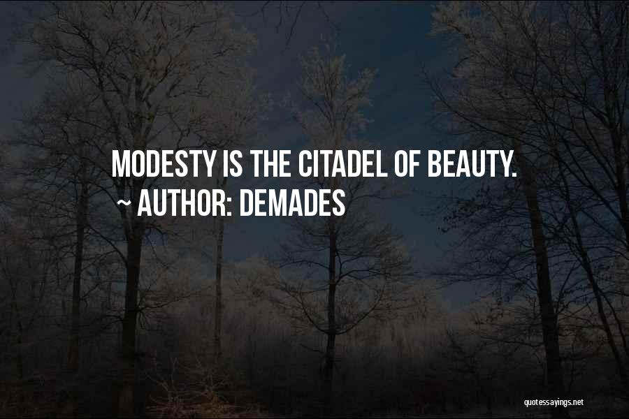 Citadel Quotes By Demades