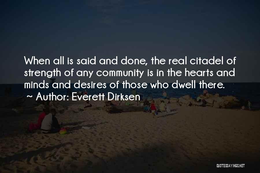 Citadel Quotes By Everett Dirksen
