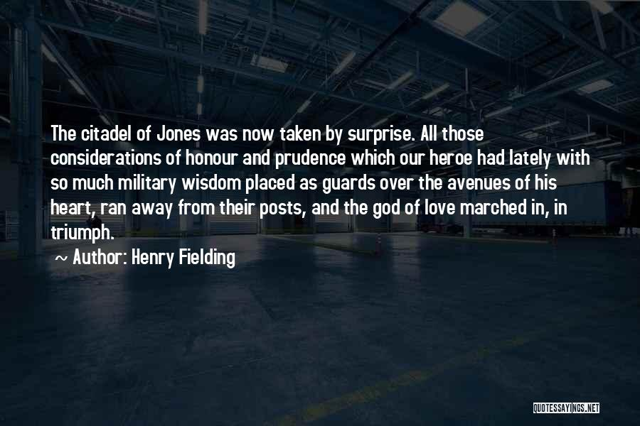 Citadel Quotes By Henry Fielding