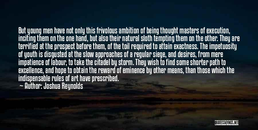 Citadel Quotes By Joshua Reynolds