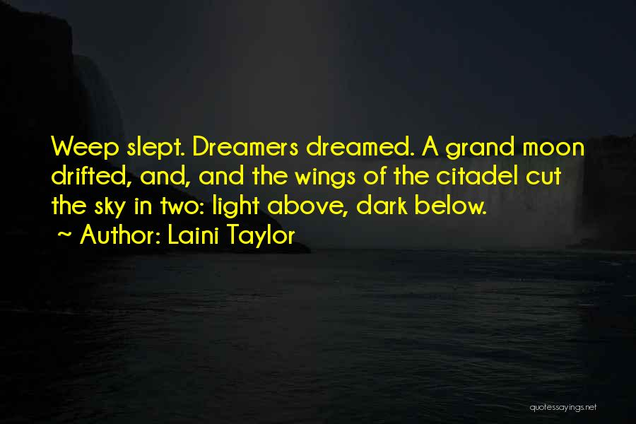 Citadel Quotes By Laini Taylor