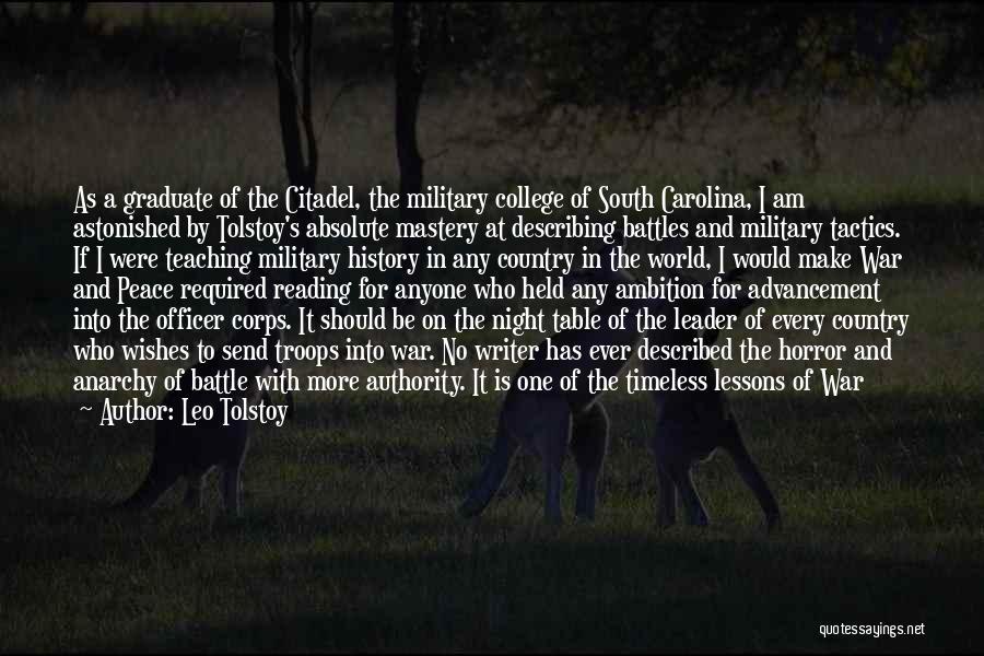 Citadel Quotes By Leo Tolstoy