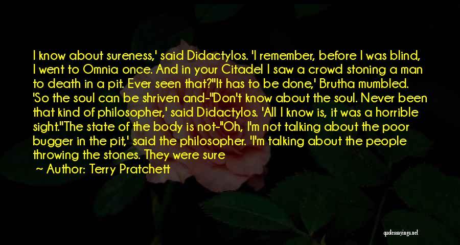 Citadel Quotes By Terry Pratchett