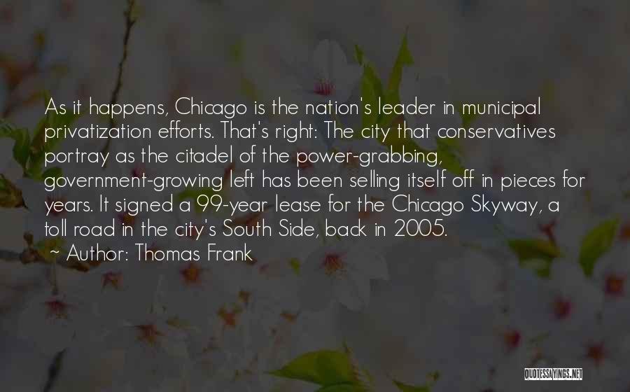 Citadel Quotes By Thomas Frank