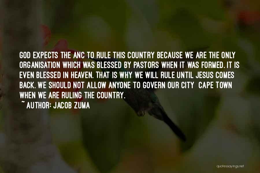 City Of Cape Town Quotes By Jacob Zuma