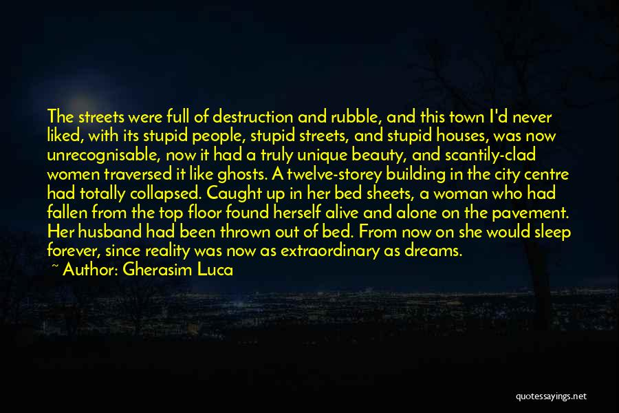City Of Ghosts Quotes By Gherasim Luca