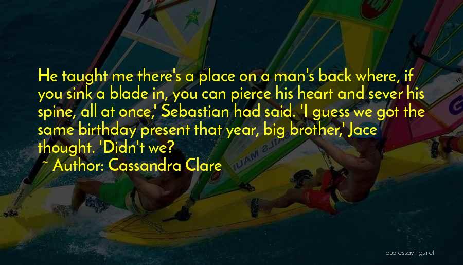 City Of Glass Sebastian Quotes By Cassandra Clare