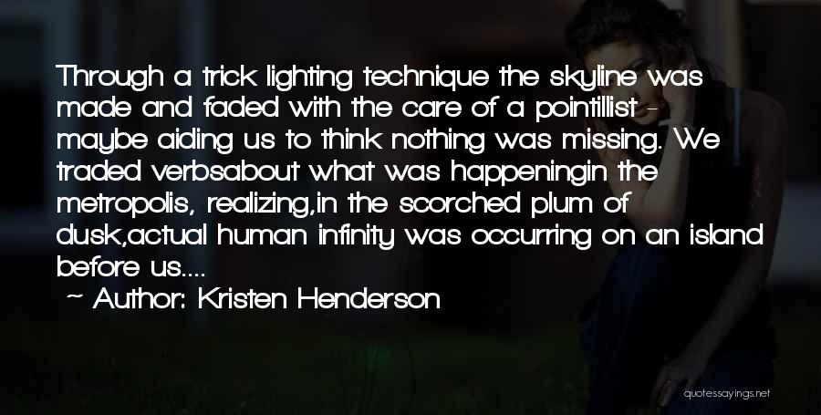 City Skyline Quotes By Kristen Henderson
