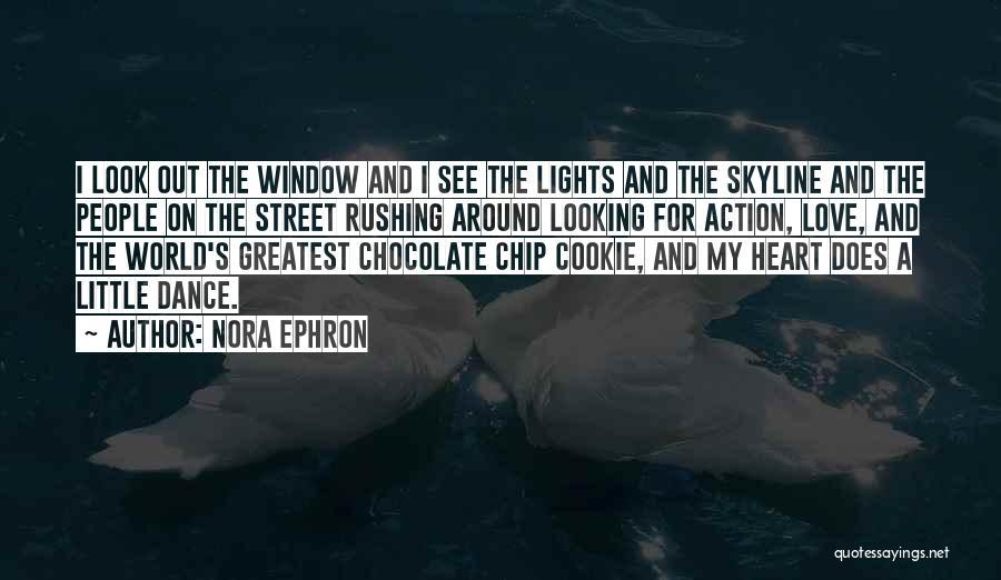 City Skyline Quotes By Nora Ephron