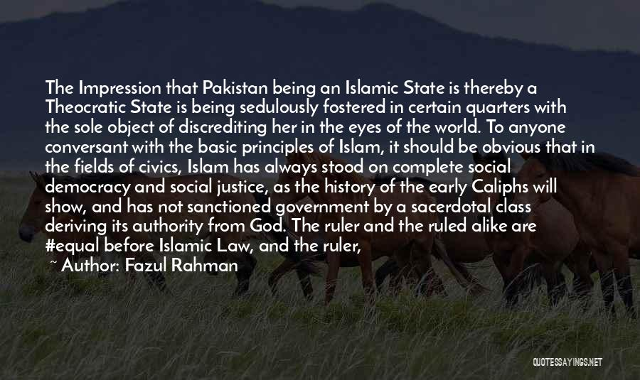 Civics Class Quotes By Fazul Rahman