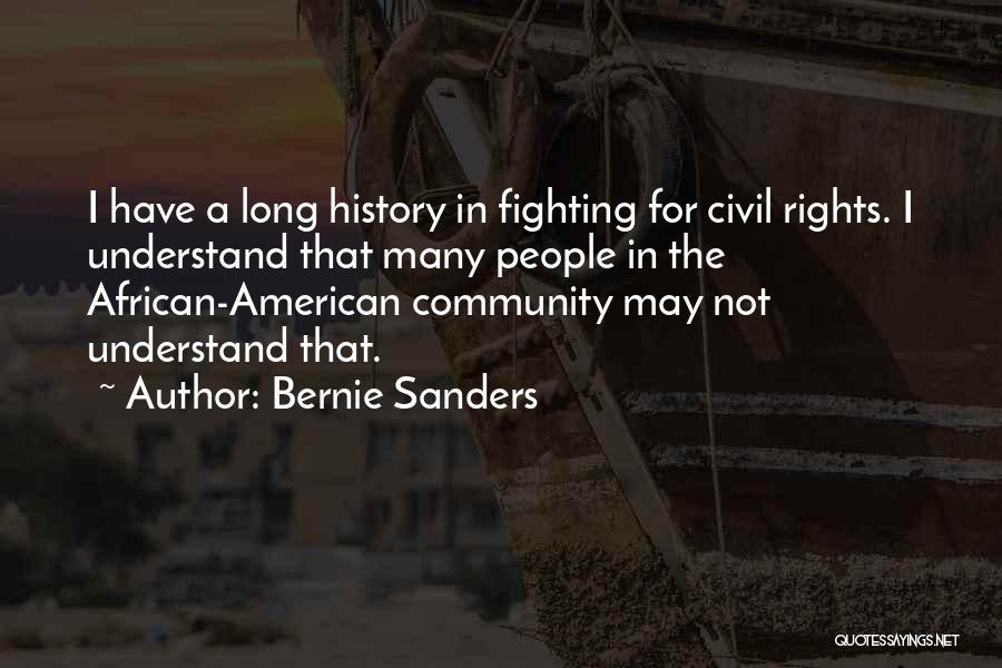 Civil Quotes By Bernie Sanders