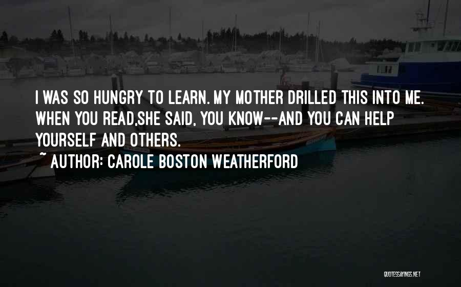 Civil Quotes By Carole Boston Weatherford