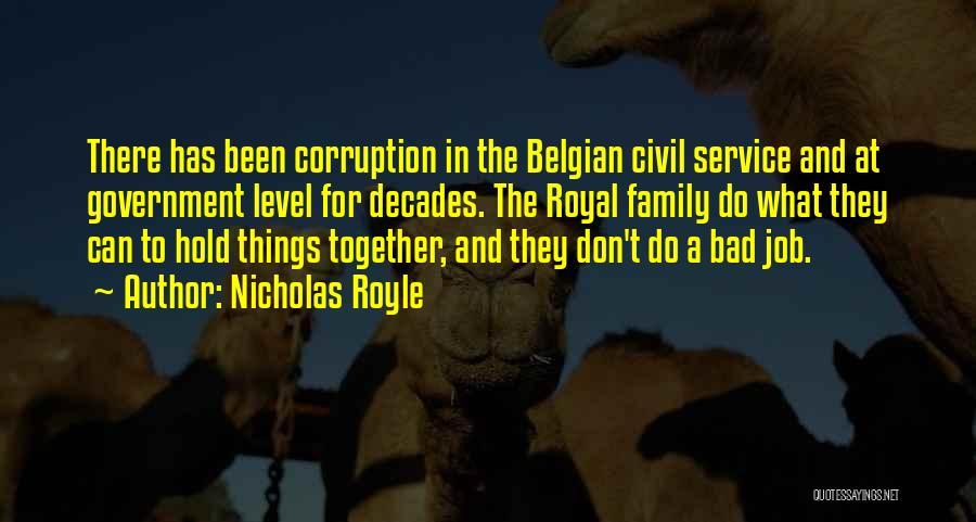 Civil Quotes By Nicholas Royle