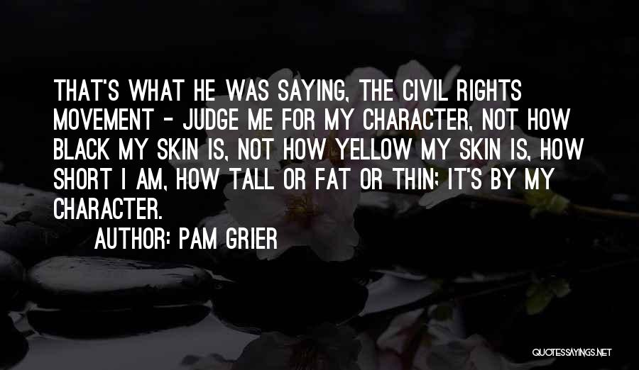 Civil Quotes By Pam Grier
