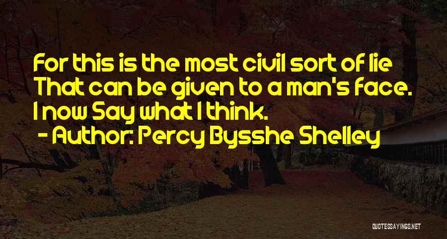 Civil Quotes By Percy Bysshe Shelley