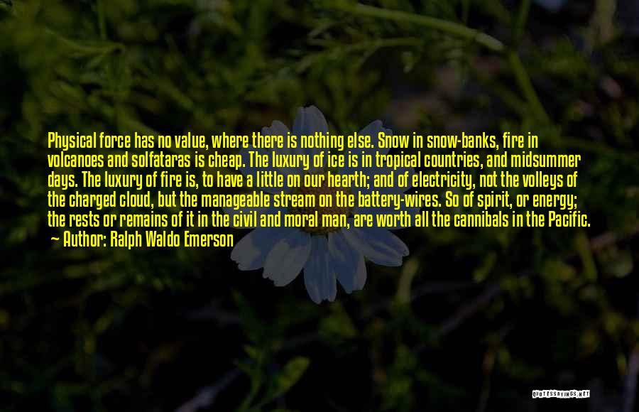 Civil Quotes By Ralph Waldo Emerson