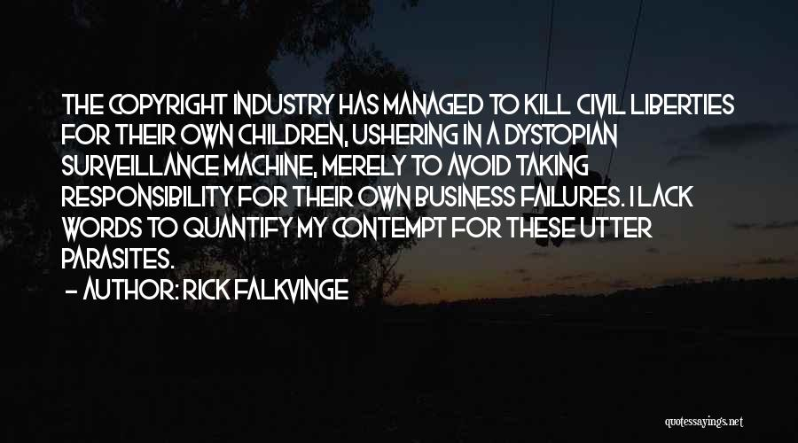 Civil Quotes By Rick Falkvinge