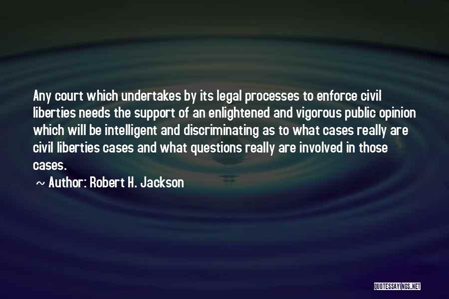 Civil Quotes By Robert H. Jackson