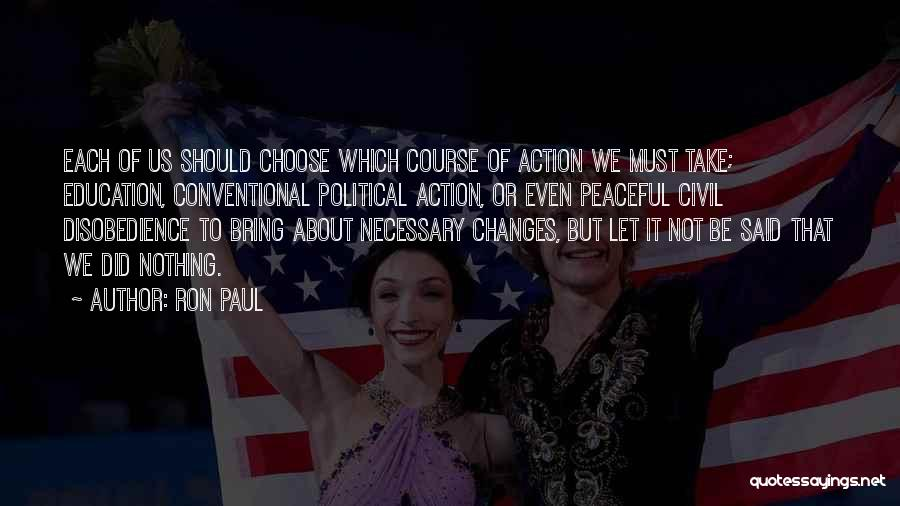 Civil Quotes By Ron Paul