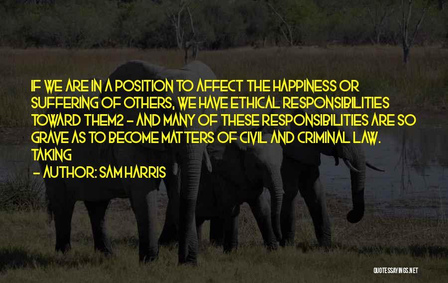 Civil Quotes By Sam Harris