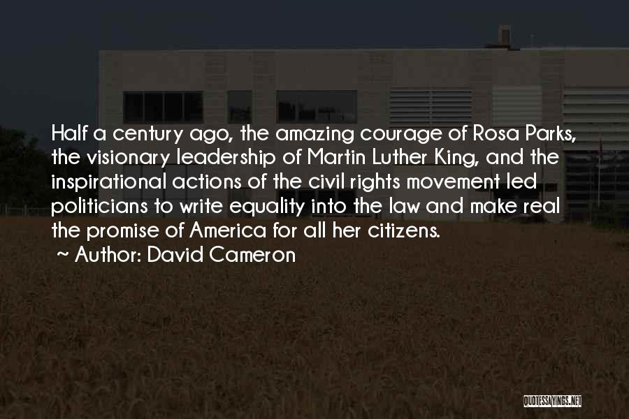Civil Rights And Equality Quotes By David Cameron