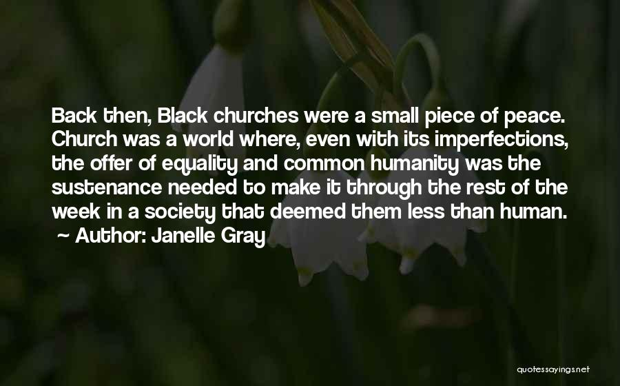 Civil Rights And Equality Quotes By Janelle Gray