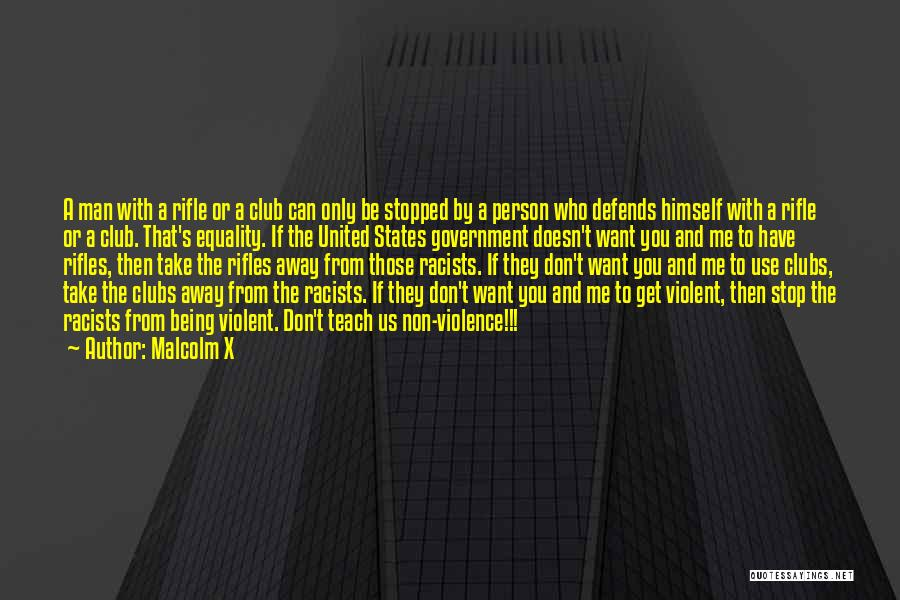 Civil Rights And Equality Quotes By Malcolm X