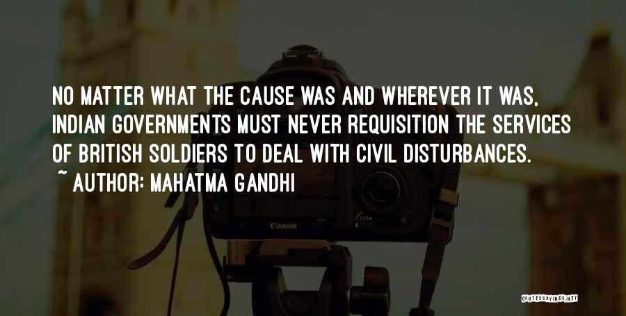 Civil Services Quotes By Mahatma Gandhi