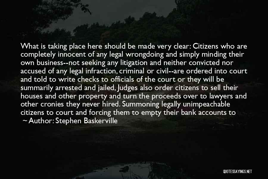 Civil Services Quotes By Stephen Baskerville