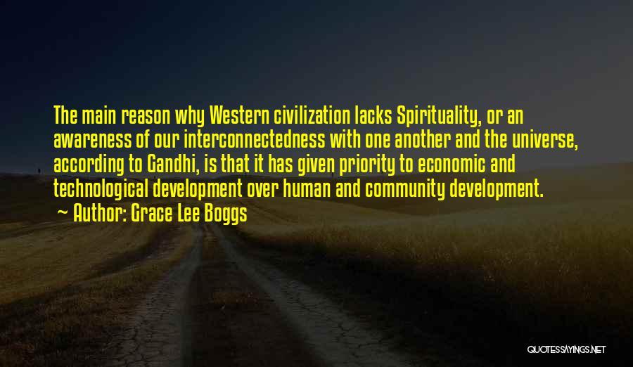 Civilization 5 Gandhi Quotes By Grace Lee Boggs