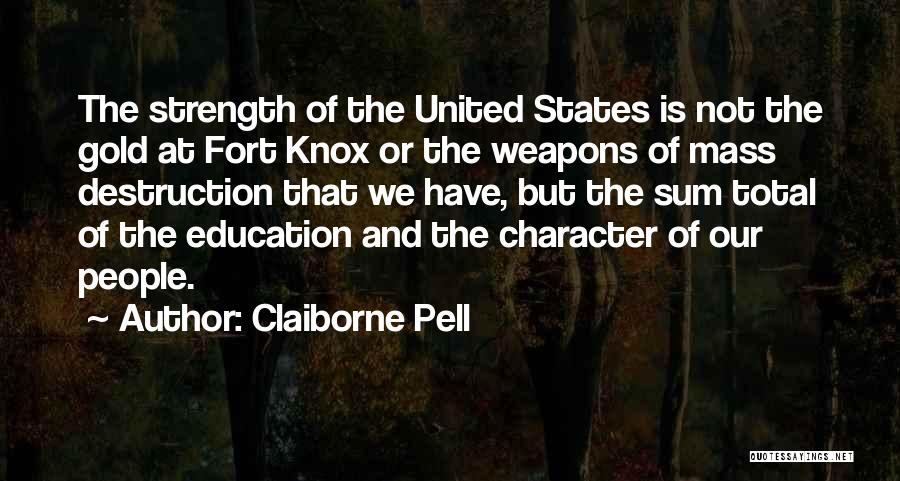 Claiborne Pell Quotes 685910