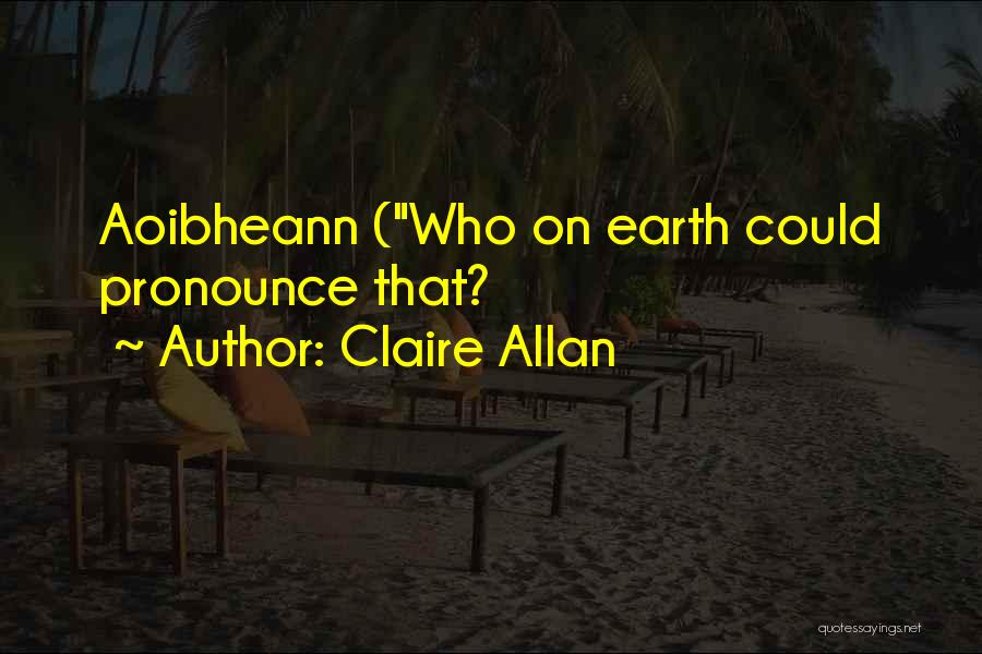Claire Allan Quotes 1379673