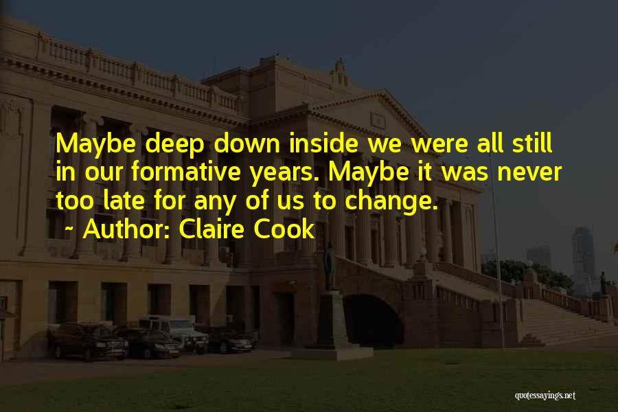 Claire Cook Quotes 159464